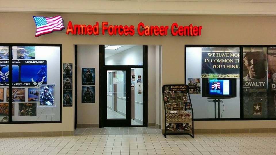 US Armed Forces Recruiting Center Installs Security Window Film