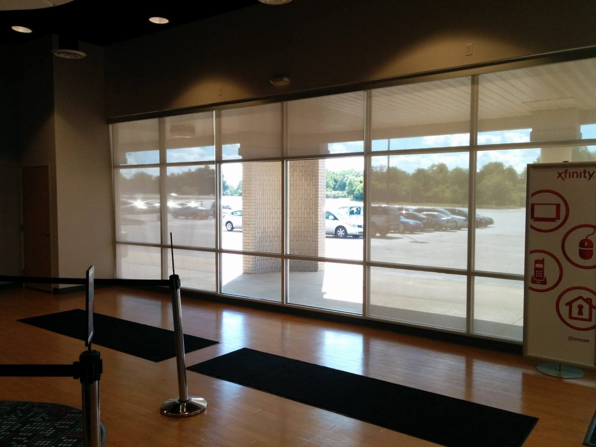 Window Treatments Help Store Control the Light