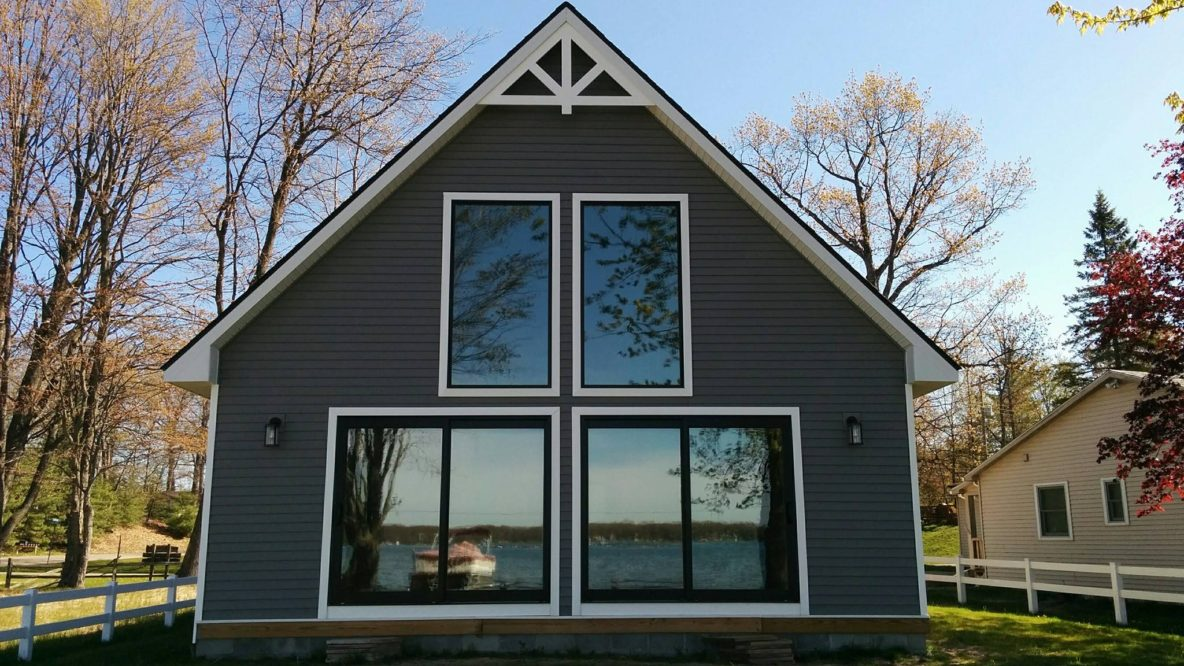 Family Cabin in Lake City, Michigan Made More Cozy with Home Window Film