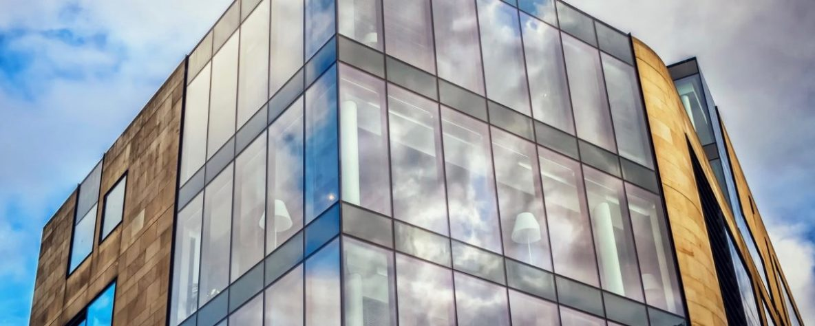 We Have Commercial Window Films That Will Upgrade Any Building - Commercial Window Tinting in Traverse City, Grand Rapids, Cadillac, Petoskey, Roscommon, Ludington, Michigan and their surrounding areas.