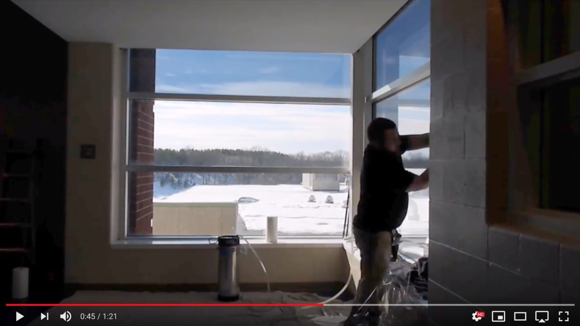 Manistee, Michigan Office Building Adds Window Film to Improve Comfort - Commercial Window Tinting in Manistee, Michigan and the Surrounding Areas