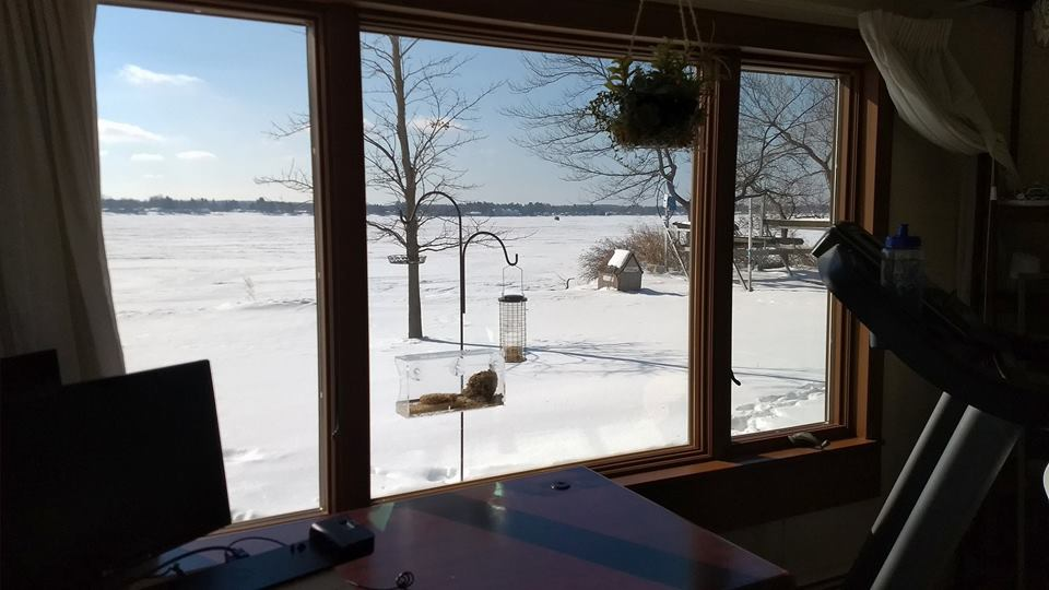We Help This Lake Cadillac Homeowner Reduce Solar Gain with Window Film 3