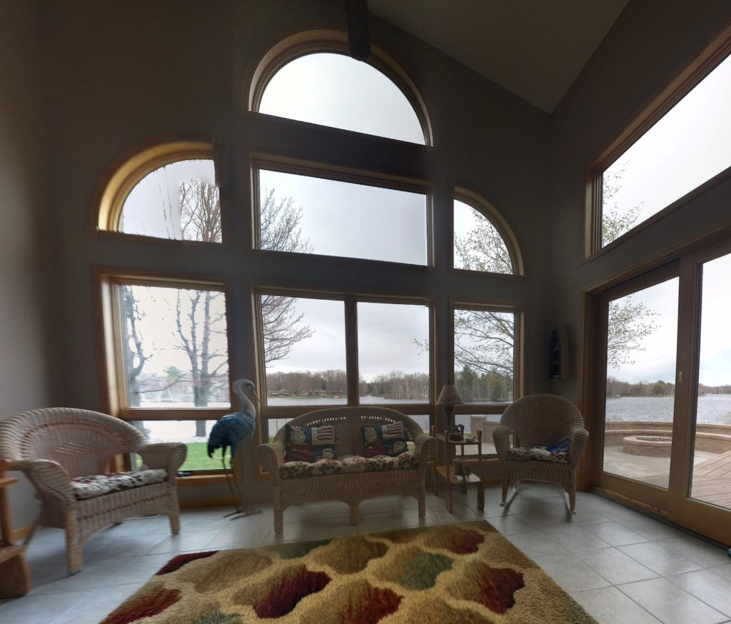 Houghton Lake, Michigan Views Improved with Vista Residential Window Films 2