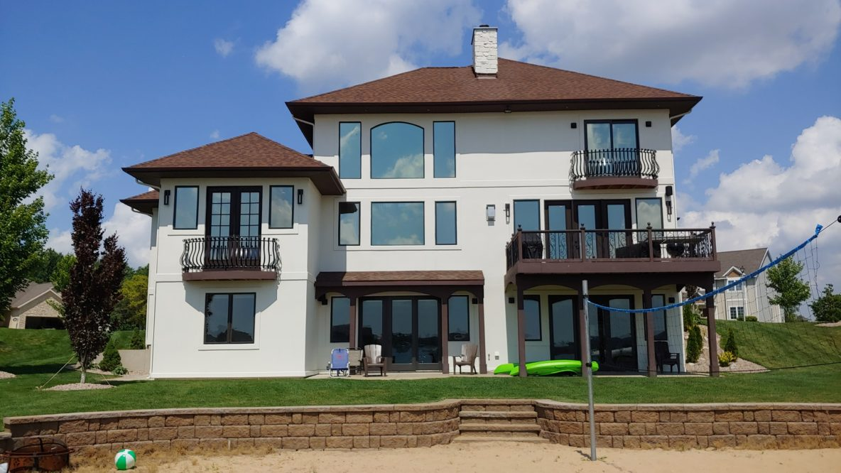 Window Films Combat Heat & Glare in Hudsonville, Michigan Lake Home