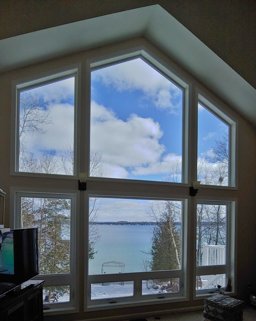 Kewadin, Michigan Area Home Using Residential Window Film For Fade Protection