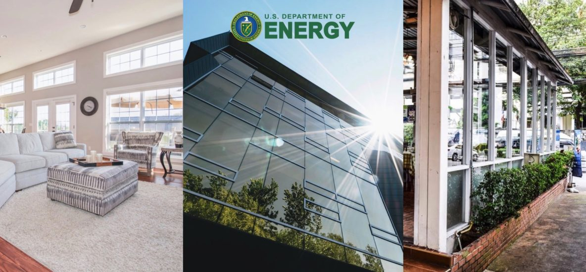 Energy Saving Benefits of Window Film Discussed by U.S. Department of Energy - Home and Commercial Window Tinting in Cadillac, Grand Rapids, Traverse City and throughout Western Michigan.