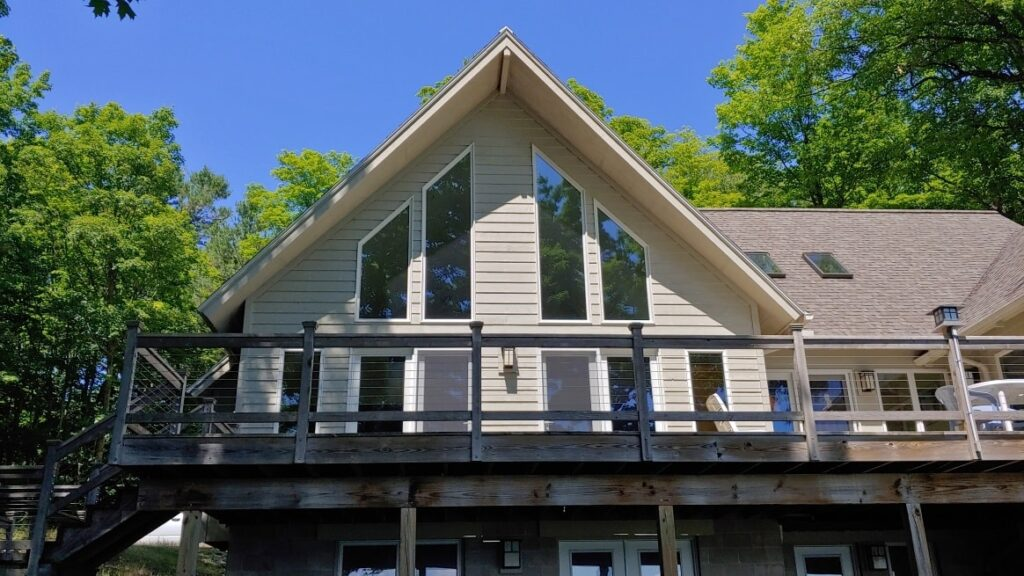 Suttons Bay Homeowner Reduces Heat and Offers Fade Protection - Home Window Tinting in Western Michigan 3