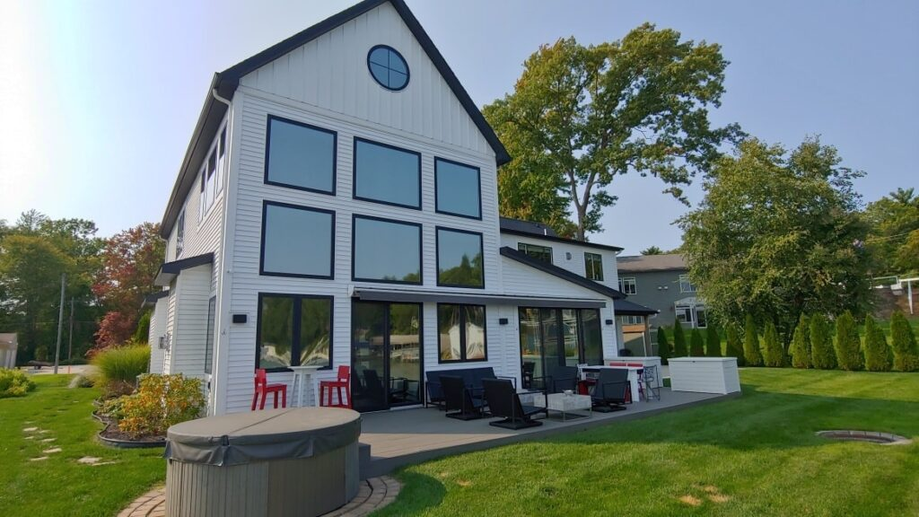 We Help Improve Home Comfort For This Newaygo, Michigan Homeowner 2 - Home Window Tinting in Western Michigan
