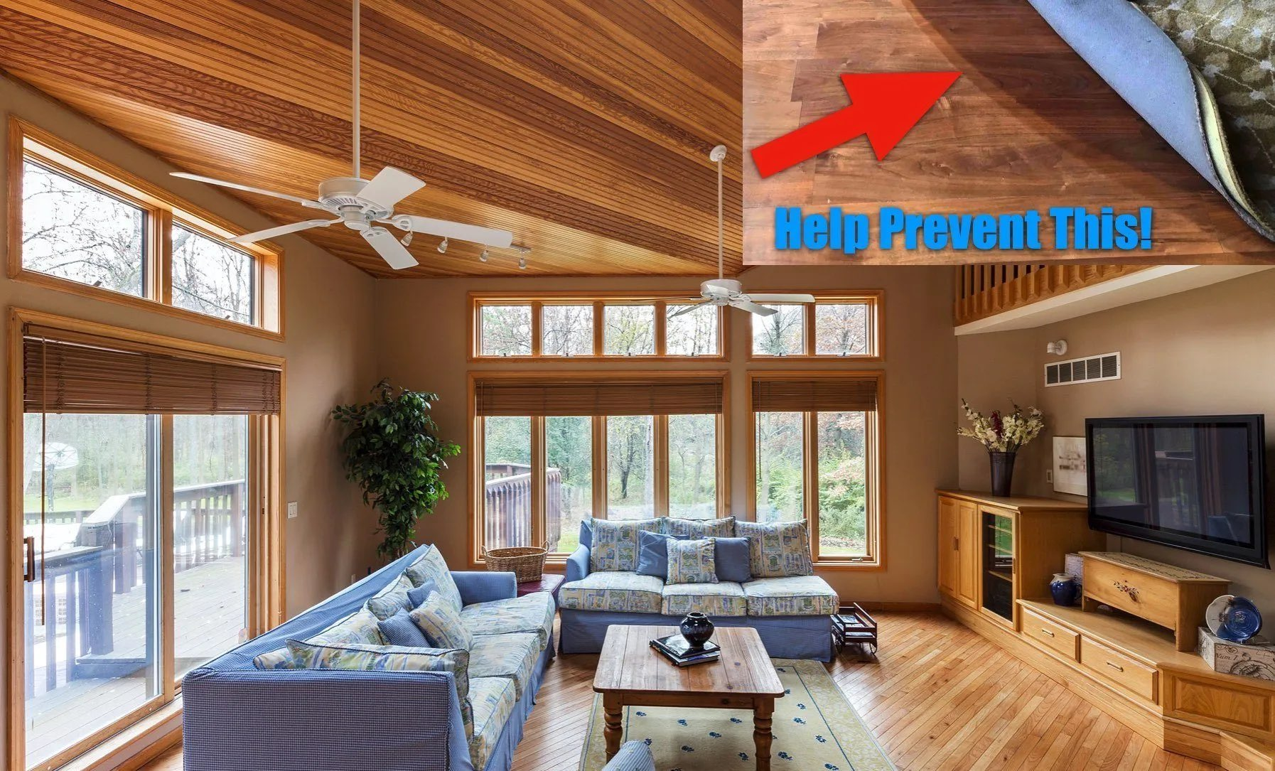 Sun Damaged Floors & Furnishings - How To Protect Against Fading - Home Window Tinting in Western, Michigan
